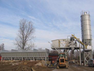 Węzeł betoniarki – Piekoszów – świetokrzyskie
