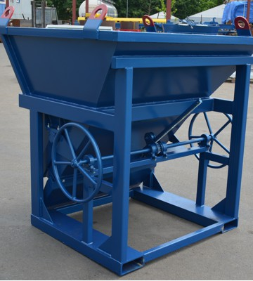 Baskets for a trolley or crane