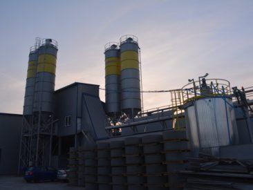 Węzeł betoniarski – Zambrów –  podlaskie