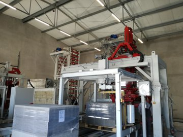 Prefabrication line with ripening room