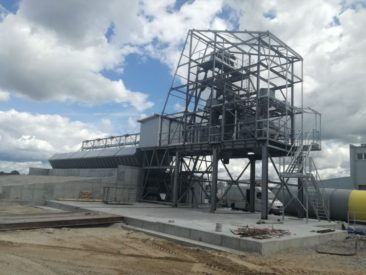 Węzeł betoniarski – Szczytno- warmińsko-mazurskie
